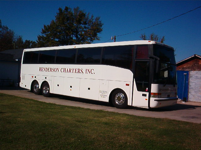 Henderson Charters - Bus Tours and Chartered Buses Luxury motorcoaches
